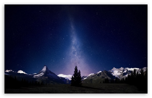 Download Beautiful Night Sky wallpaper 510x330