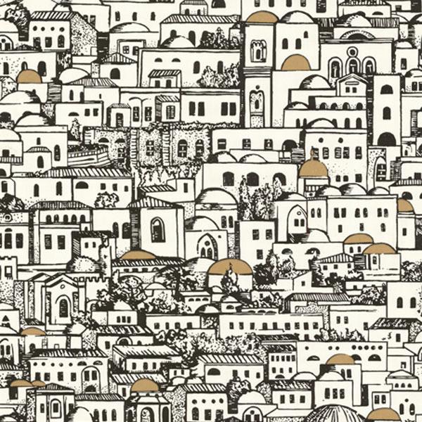 Fornasetti Mediterrania Wallpaper   Mediterranean   Wallpaper   los 600x600