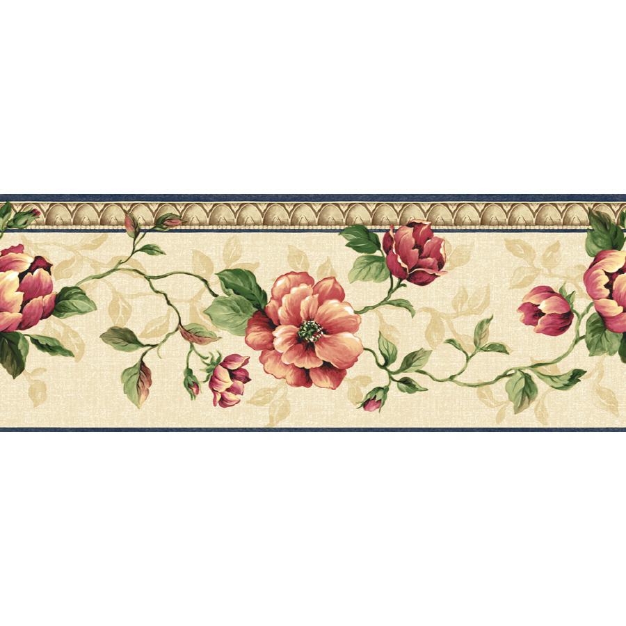 zoom in sunworthy 6 7 8 architectural rose prepasted wallpaper border 900x900