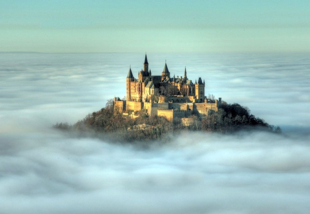 Hohenzollern Castle at dawn Germany wallpaper 1920x1325 848705 1014x700