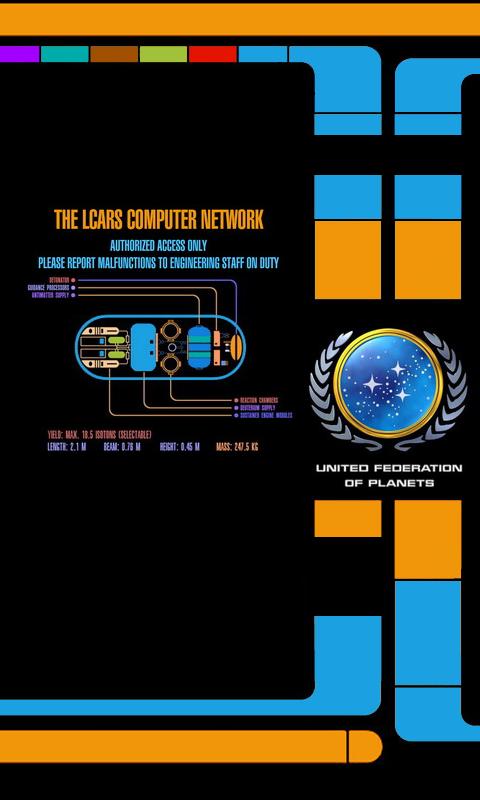 50+] LCARS Phone Wallpaper on WallpaperSafari