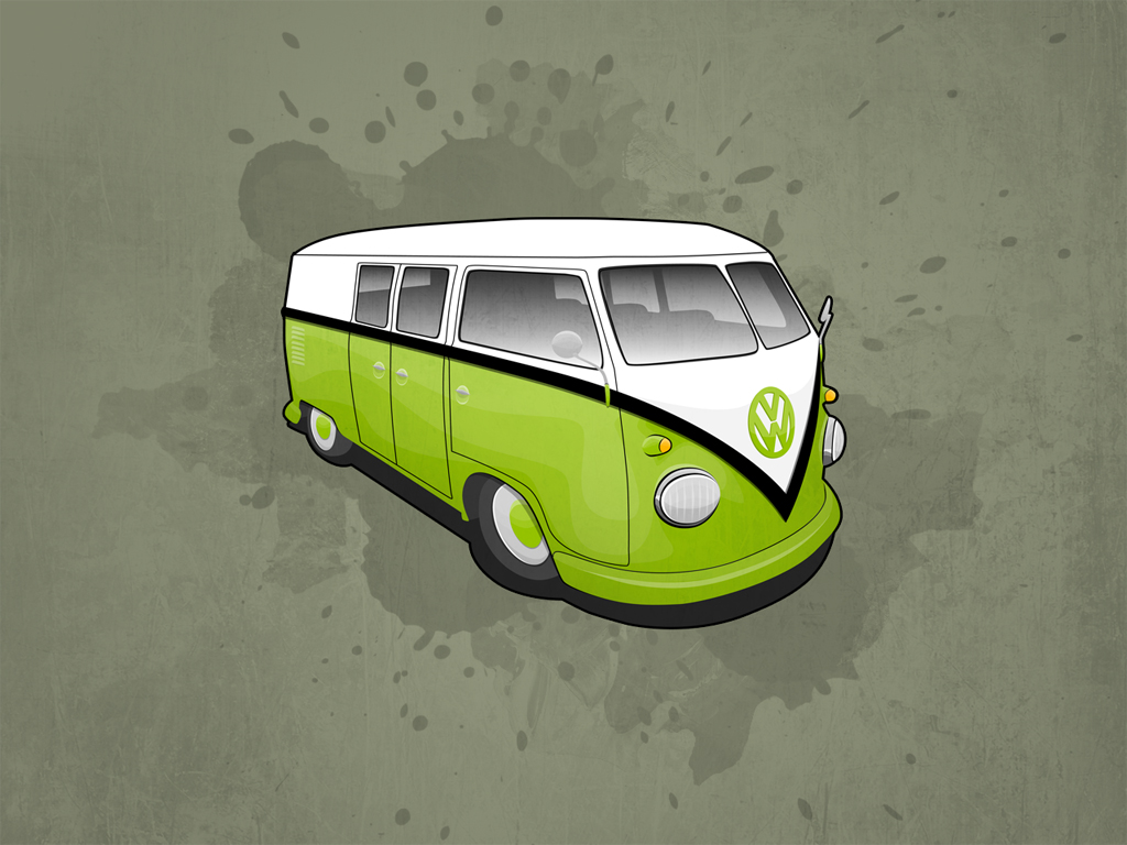 VW Camper Wallpaper Pack by Matzeline 1024x768