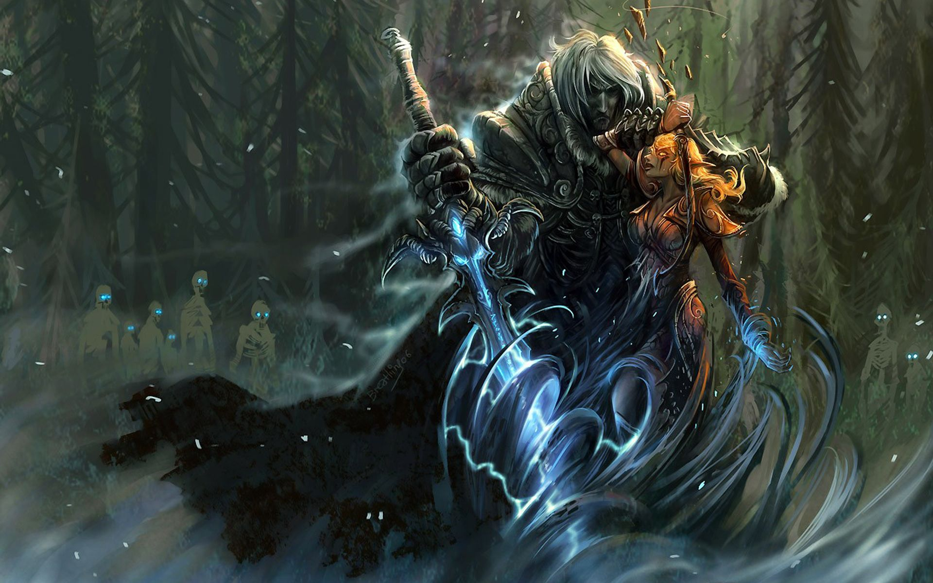 Video Game   World Of Warcraft Game Warrior Sword Wallpaper 1920x1200