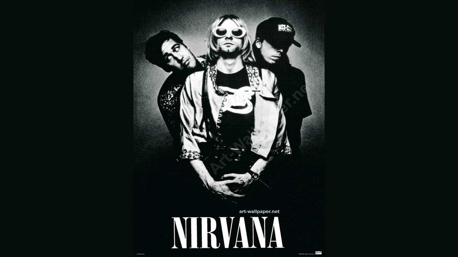 Nirvana Logo Wallpaper Nirvana Nirvana Wallpaper 1920x1080