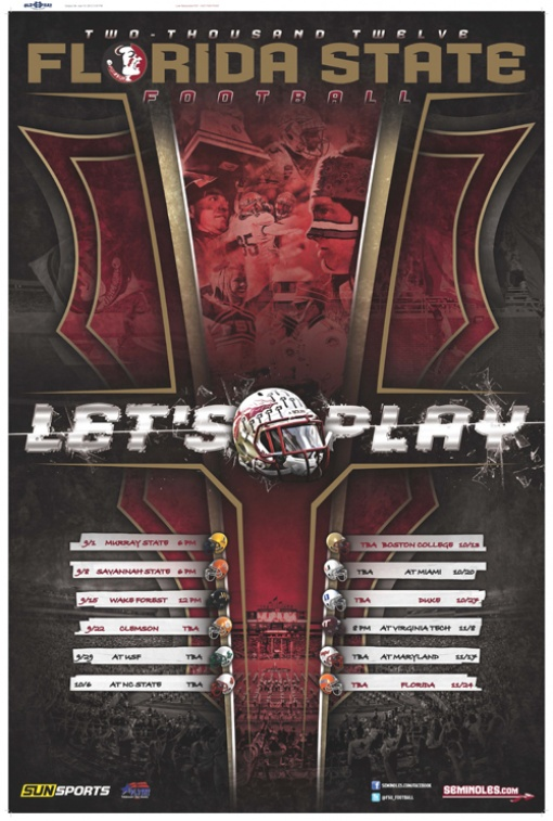2012 Florida State Football 510x757