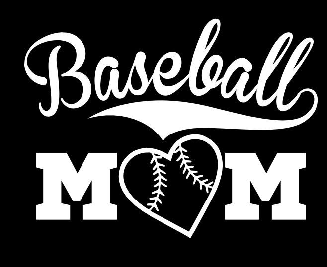 Baseball Mom Vinyl Decal Sticker eBay 658x538