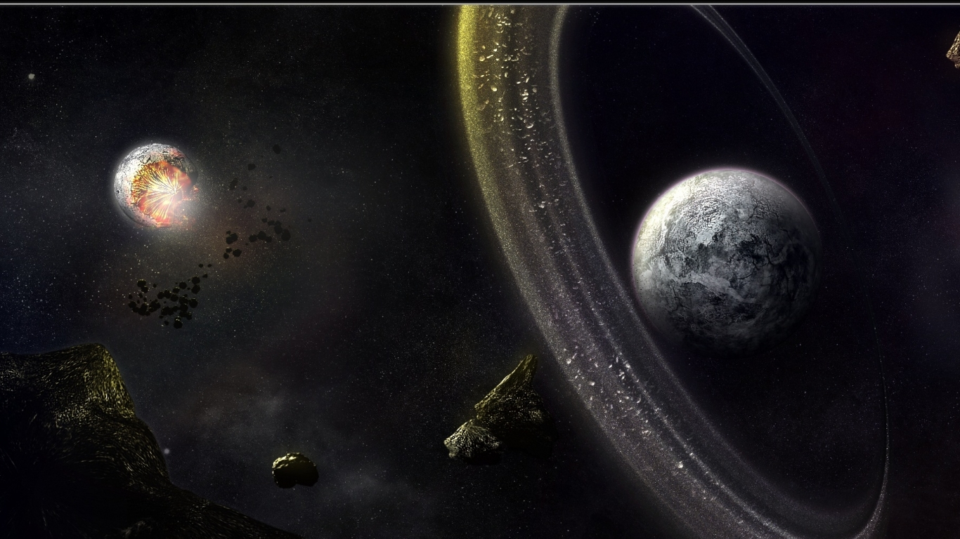 solar system wallpaper hd