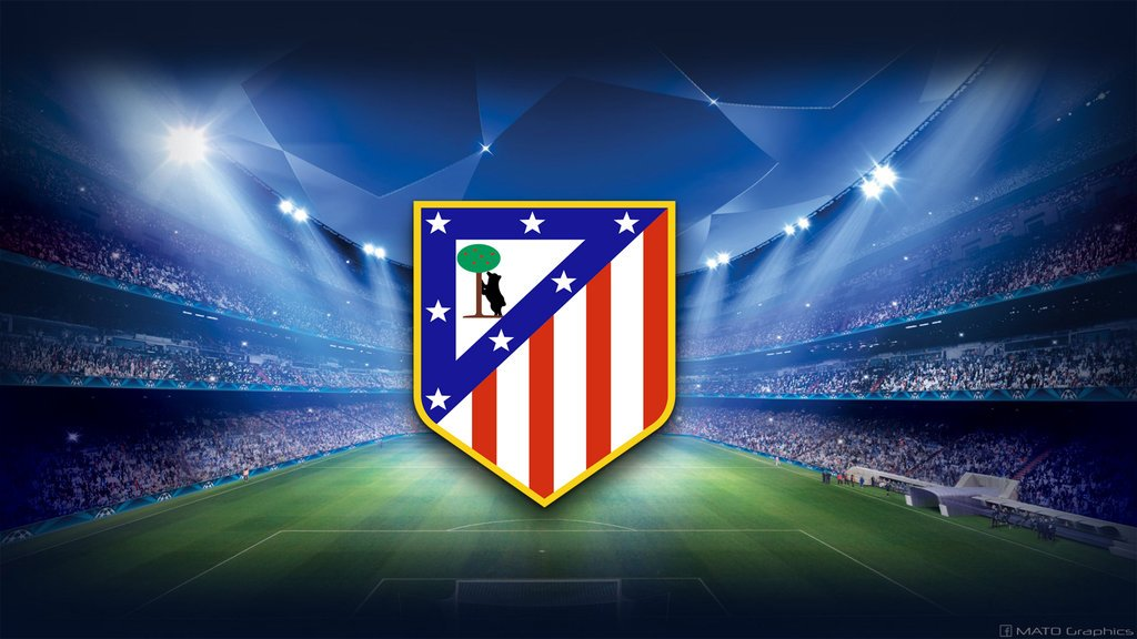 Atletico Madrid   UCL Wallpaper by MATOGraphics 1024x576