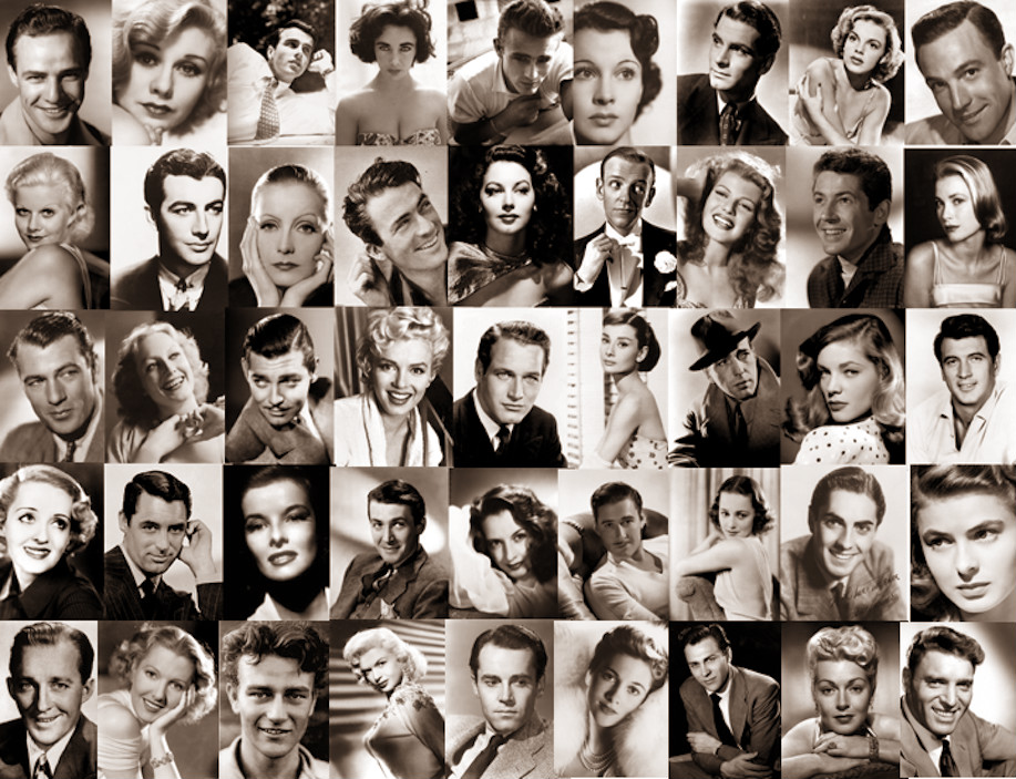 Old Hollywood on the page honeythatsok 917x703