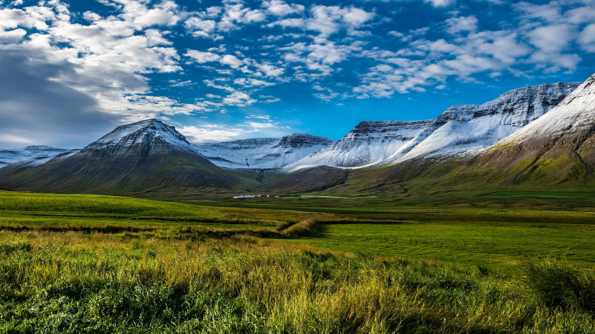 Iceland Scenery Wallpaper Clouds Iceland Wallpaper 2048x1152