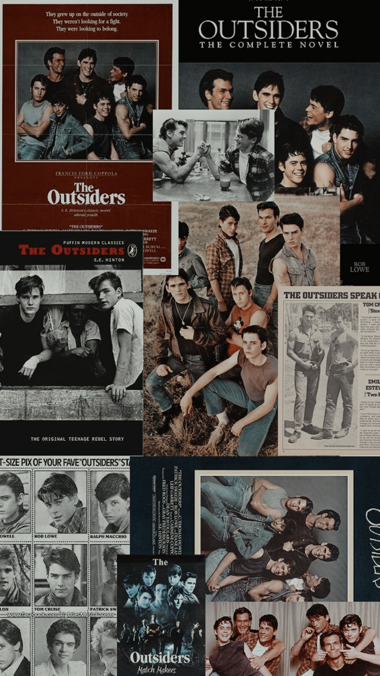 TheOutsiders in 2019 Movie collage The outsiders Iphone 750x1334