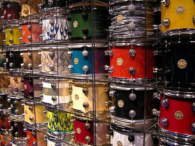 GA Pearl Drums Gretsch Ludwig Mapex Drum Workshop DW Pacific PDP 648x486