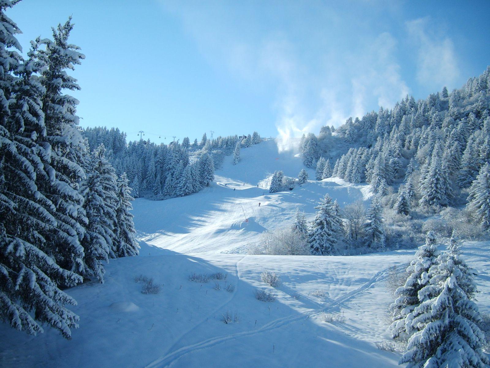 beautiful winter scenery winter wallpaper winter snowfall beautiful 1600x1200
