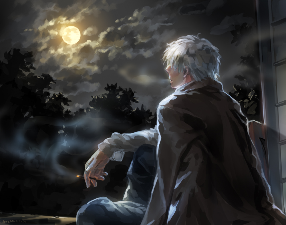 Mushishi by JaneMere 1000x787