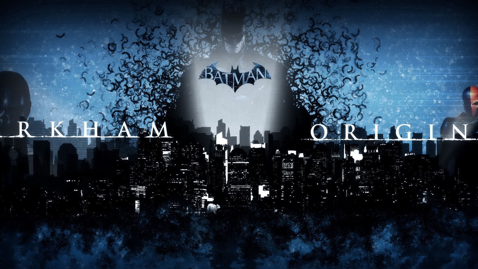 Batman Arkham Origins screensaver hd wallpapers and images 1920x1080