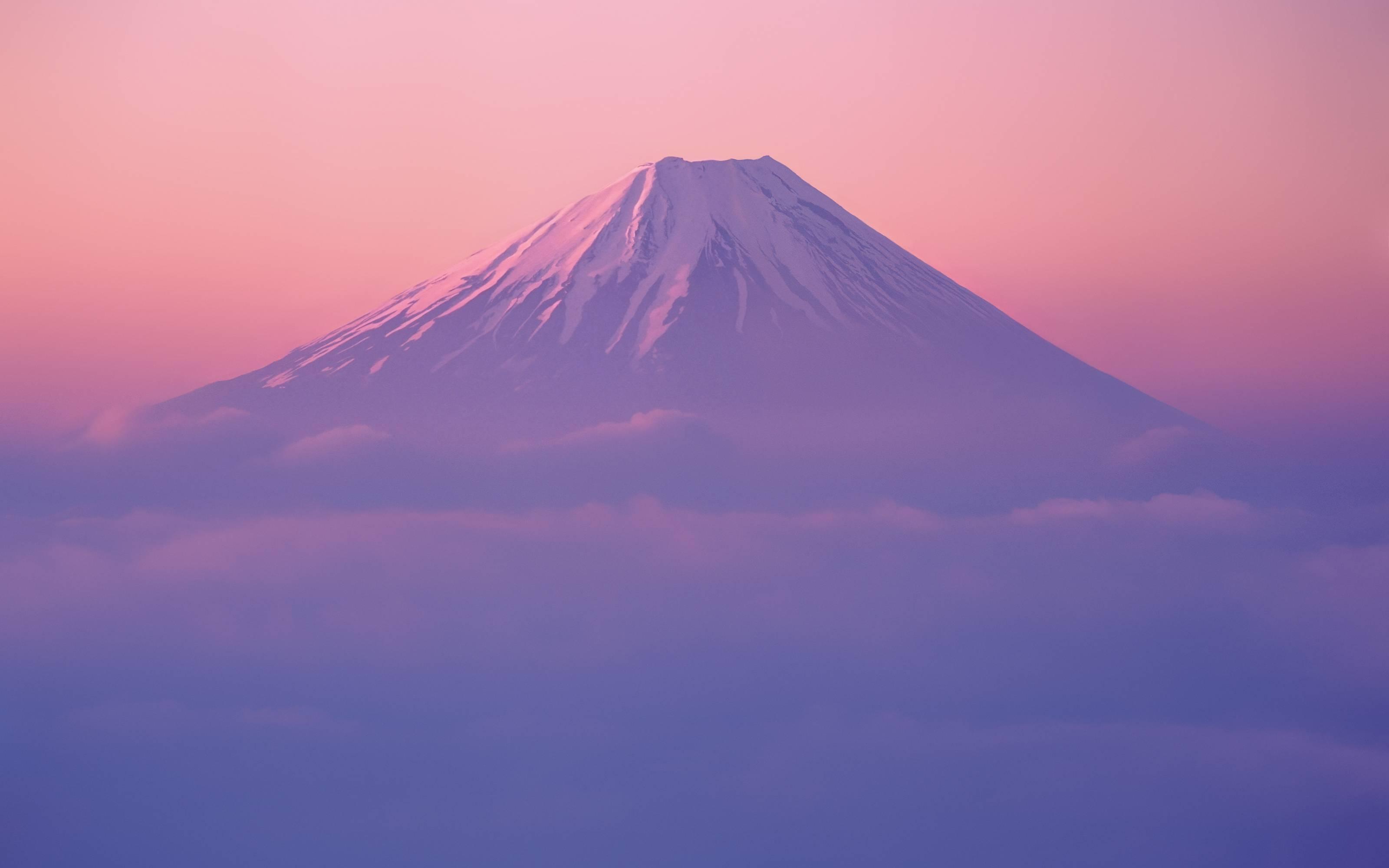 New Mt Fuji Wallpaper in Mac OS X Lion Developer Preview 2 3200x2000
