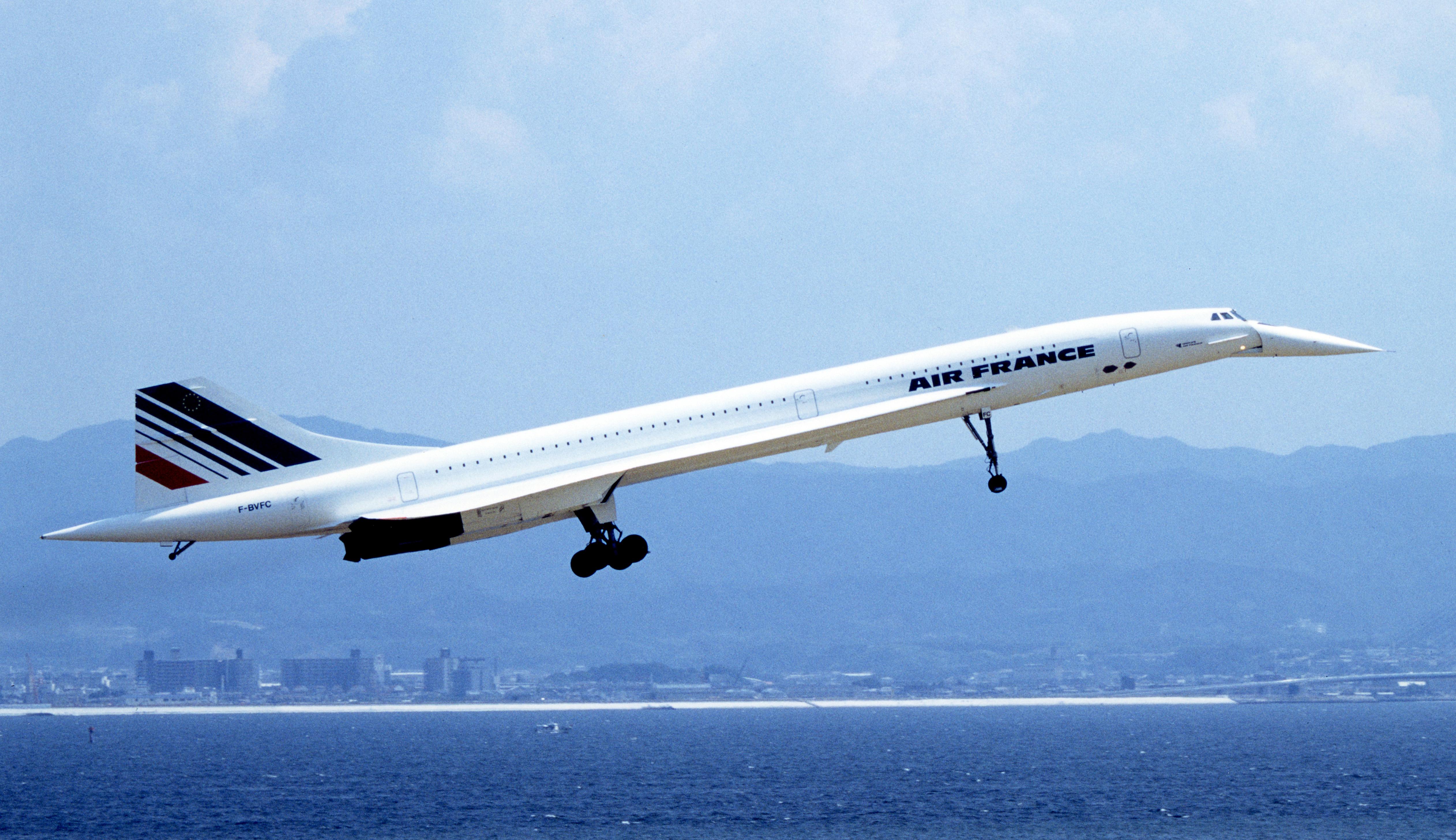 F BVFC Air France ArospatialeBAC Concorde 101   cn 209 4k Ultra 5048x2913