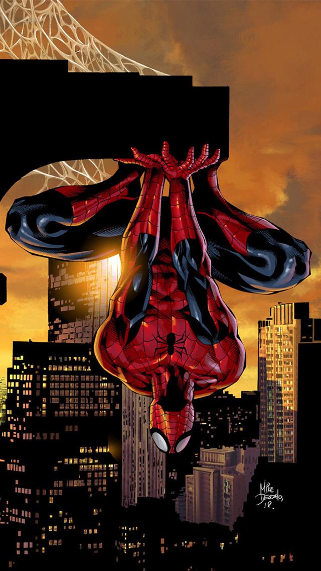 Iphone 4 spiderman wallpaper wallpapersafari - Spiderman iphone x wallpaper ...