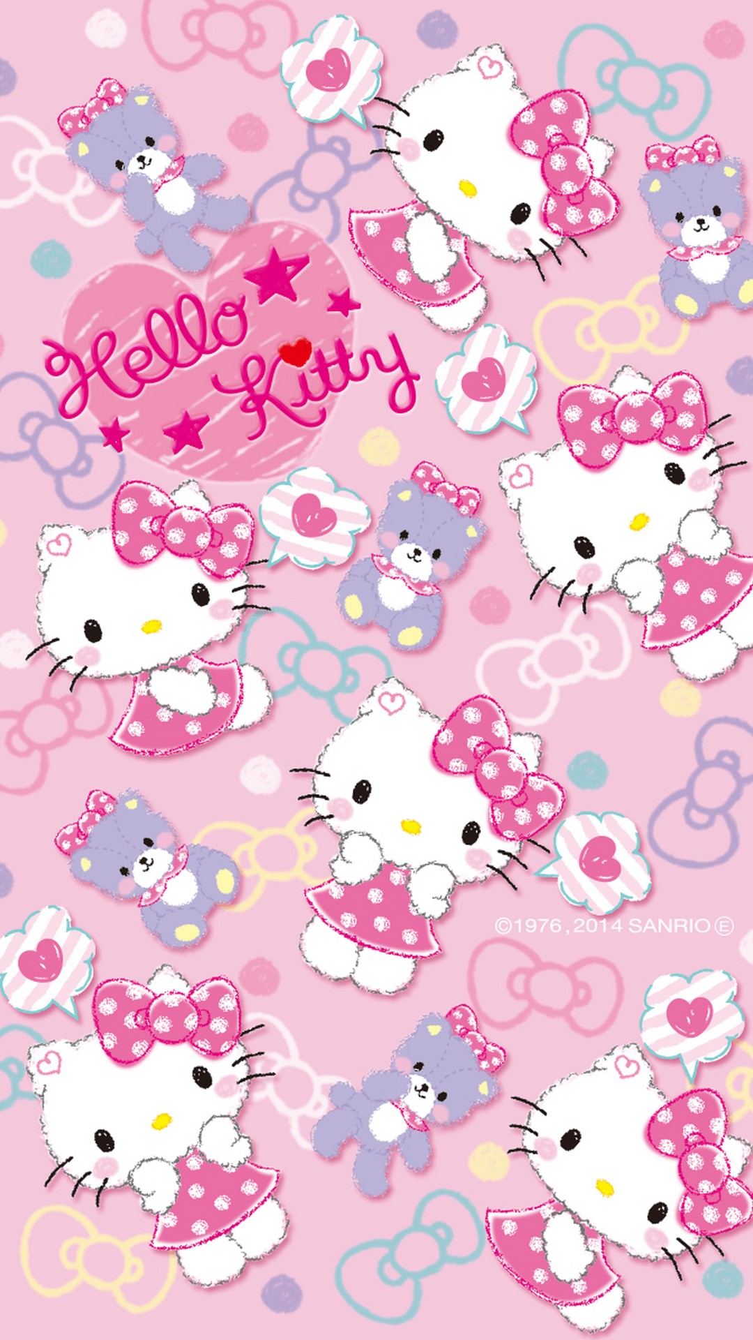 Hello Kitty Wallpaperby Artist Unknown   Hello Kitty Wallpaper Hd 1080x1920