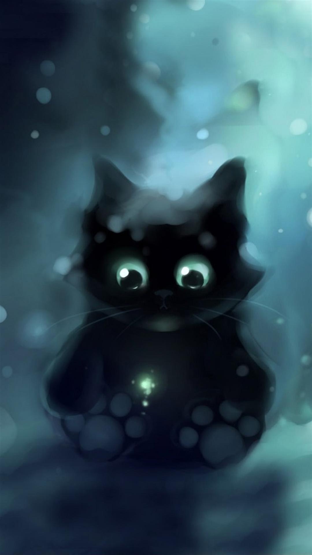 Cat Iphone Wallpapers: Galaxy Cat IPhone Wallpaper