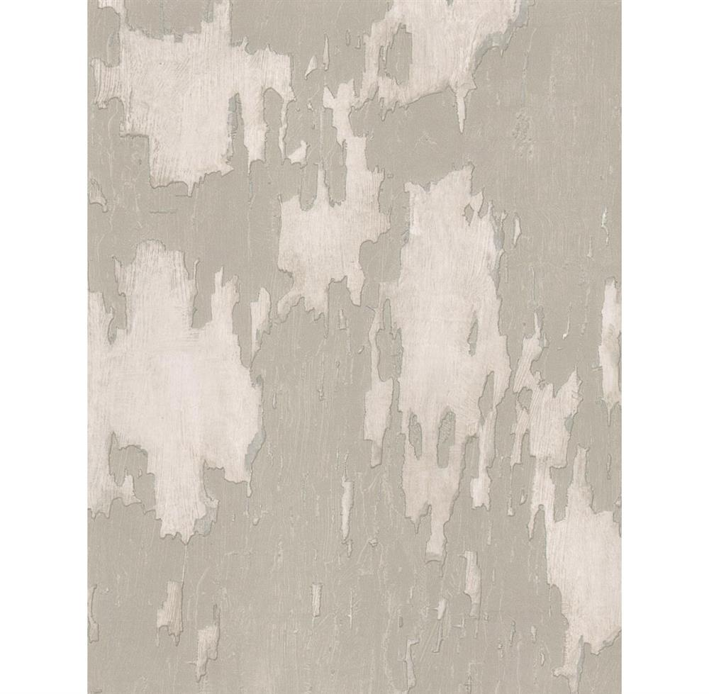 Distressed Plaster Industrial Loft Wallpaper   Linen Kathy Kuo Home 1000x979