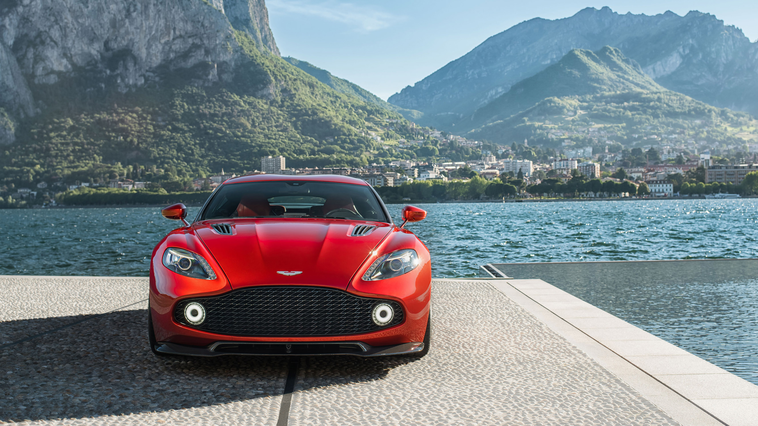 2017 Aston Martin Vanquish Zagato Wallpaper HD Car Wallpapers 2560x1440
