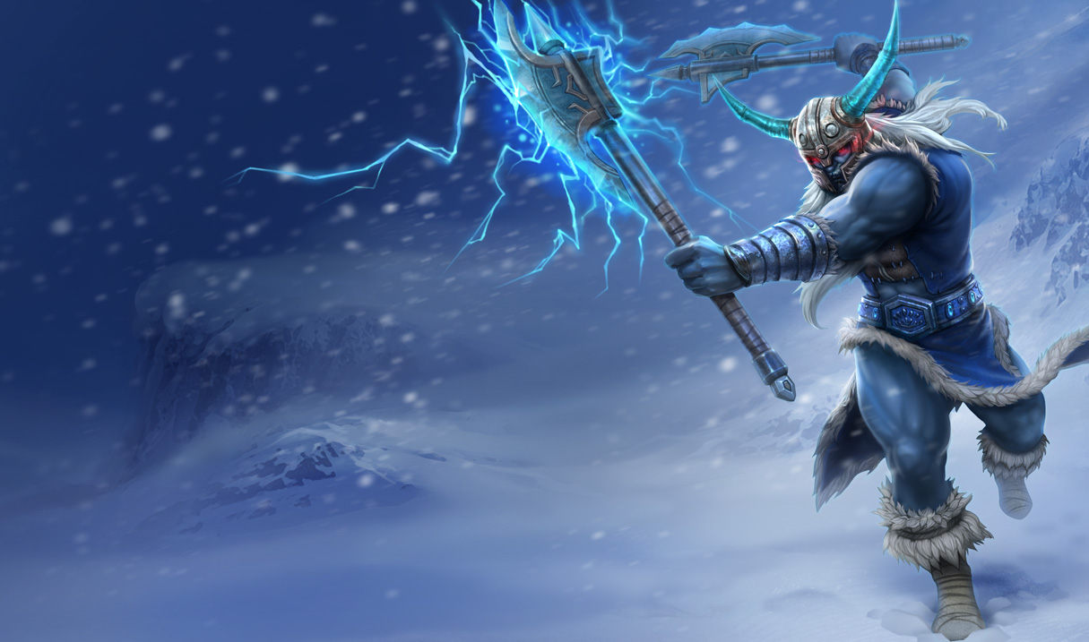 image League Of Legends Olaf PC Android iPhone and iPad Wallpapers 1215x717