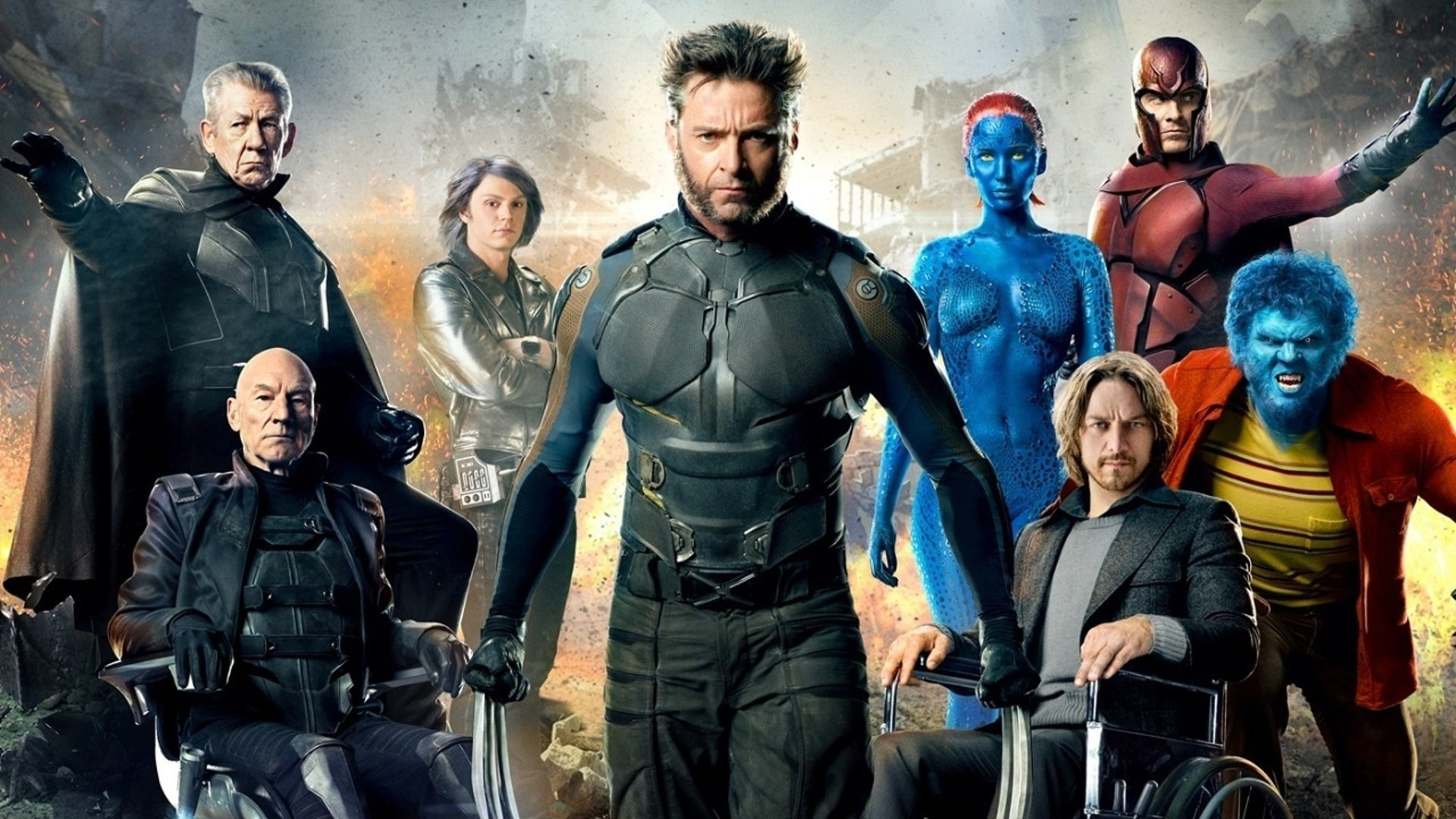 X Men Days of Future Past HD Wallpaper Background Image 1920x1080