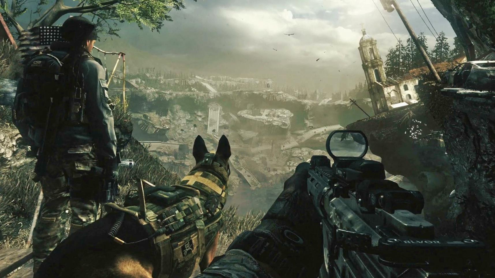 Wallpapers Desktops   Call Of Duty 1716x965