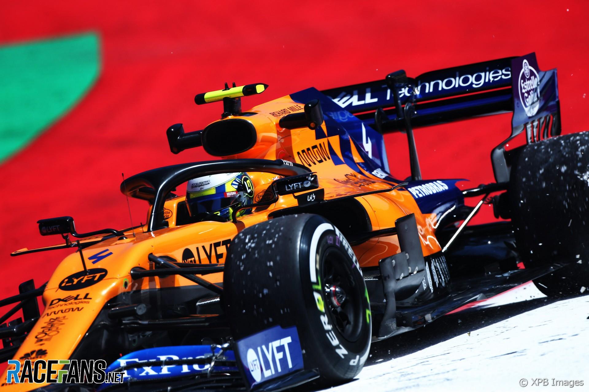 Lando Norris McLaren Red Bull Ring 2019 RaceFans 1920x1280