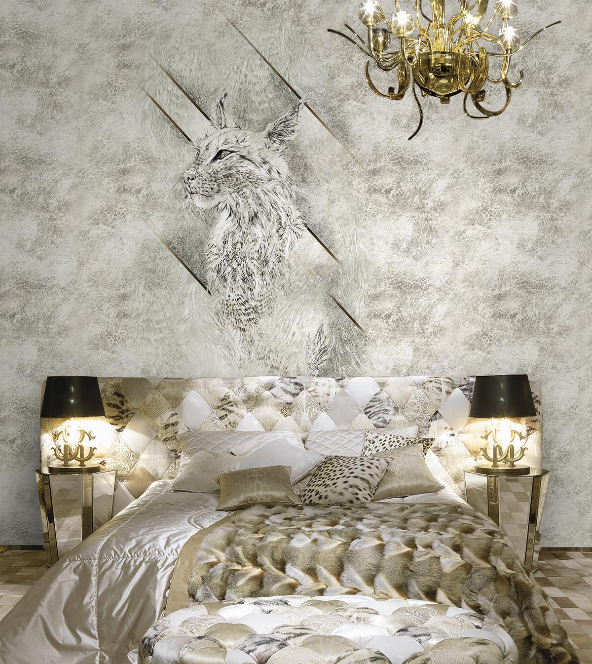 Roberto Cavalli Wallpaper Dealers   Roberto Cavalli Grey Wall 1200x1345