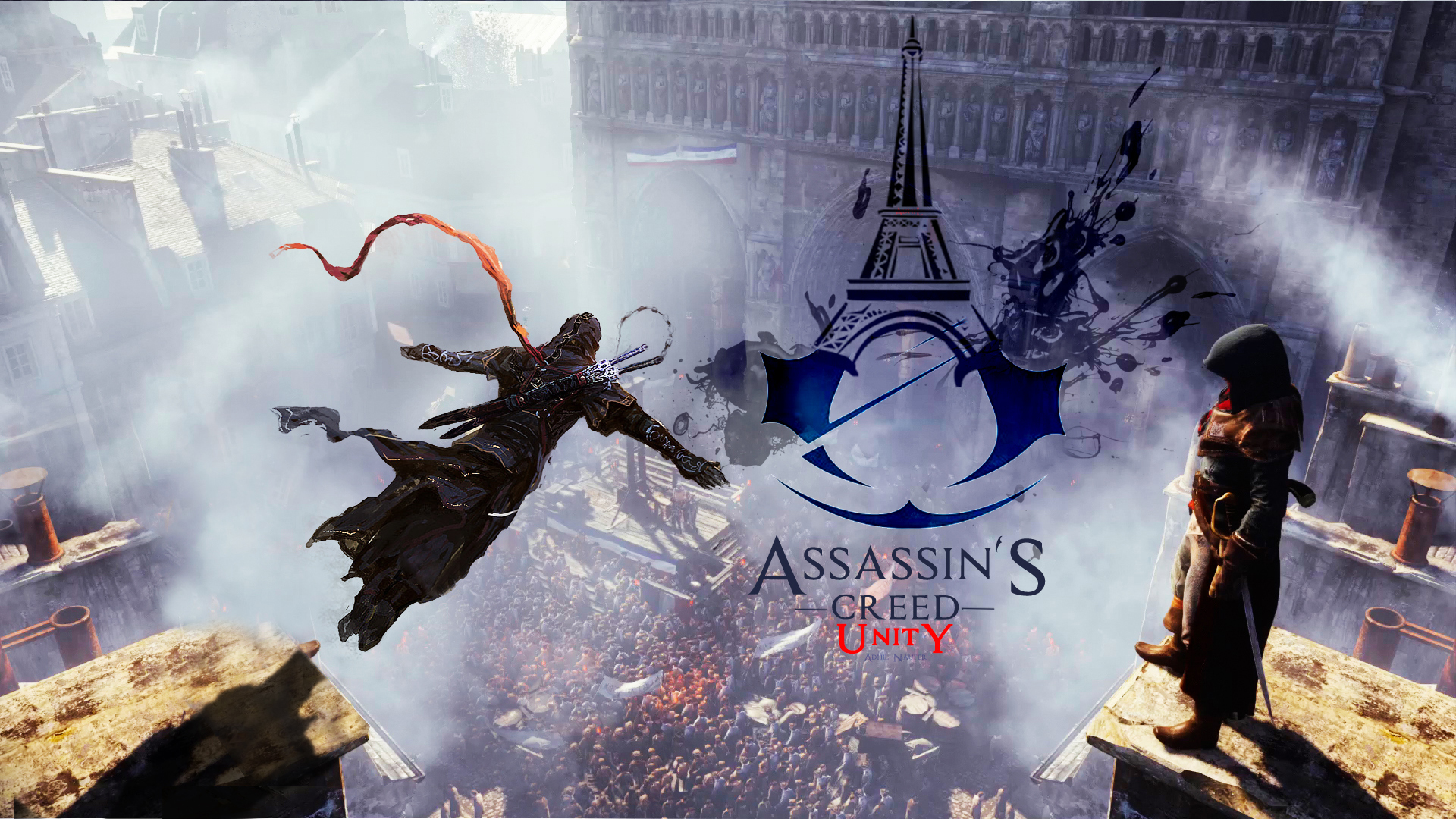 assassin s creed unity game hd 1920x1080 1080p wallpaper and 1920x1080