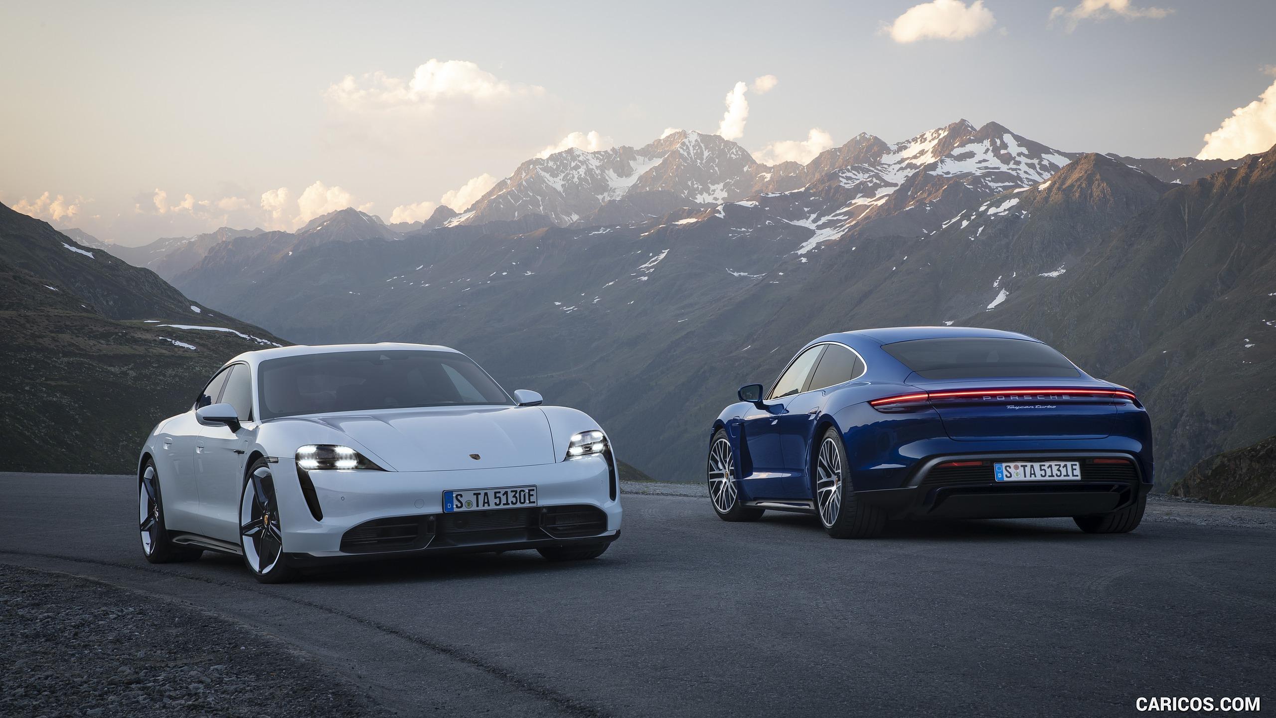 2020 Porsche Taycan Turbo and Taycan Turbo S HD Wallpaper 16 2560x1440