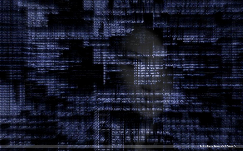 Code Girl Wallpaper Wide Screen Neuro Trashcan 1440x900