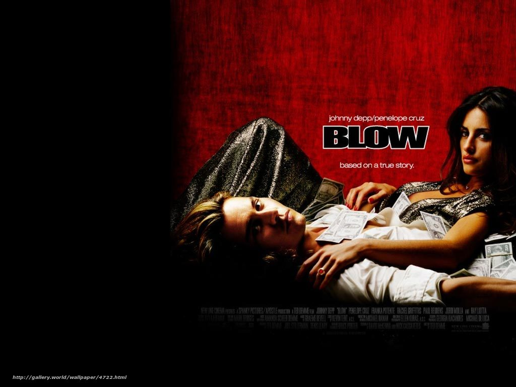 Download wallpaper Cocaine Blow film movies desktop wallpaper 1024x768