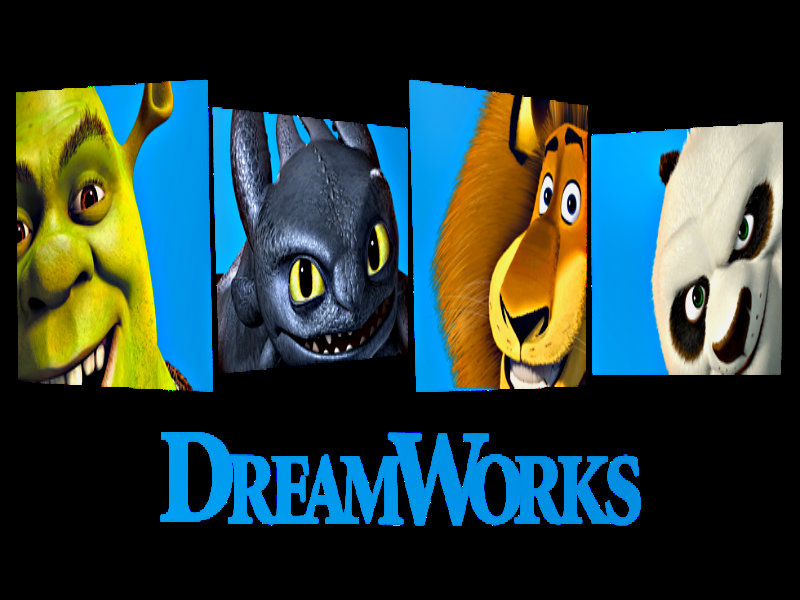 Dreamworks wallpaper wallpapersafari for Wallpaper home animation