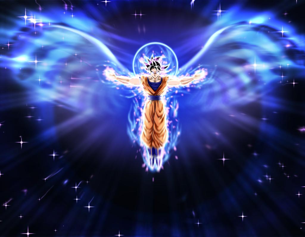 Ultra Instinct Angel Goku by MoonOfYomi 1024x795