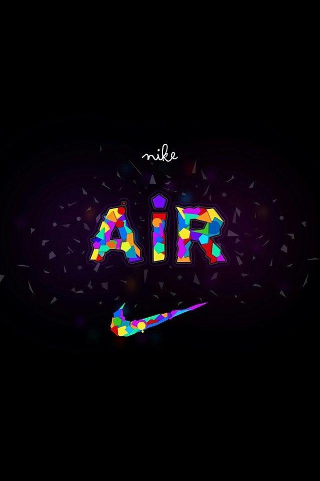 Nike Logo   Colorful Air Swoosh DEZIGN Pinterest 640x960