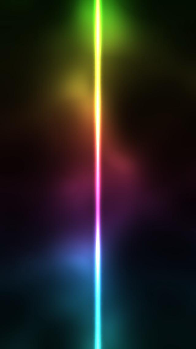 Neon Light Line Wallpaper   iPhone Wallpapers 640x1136