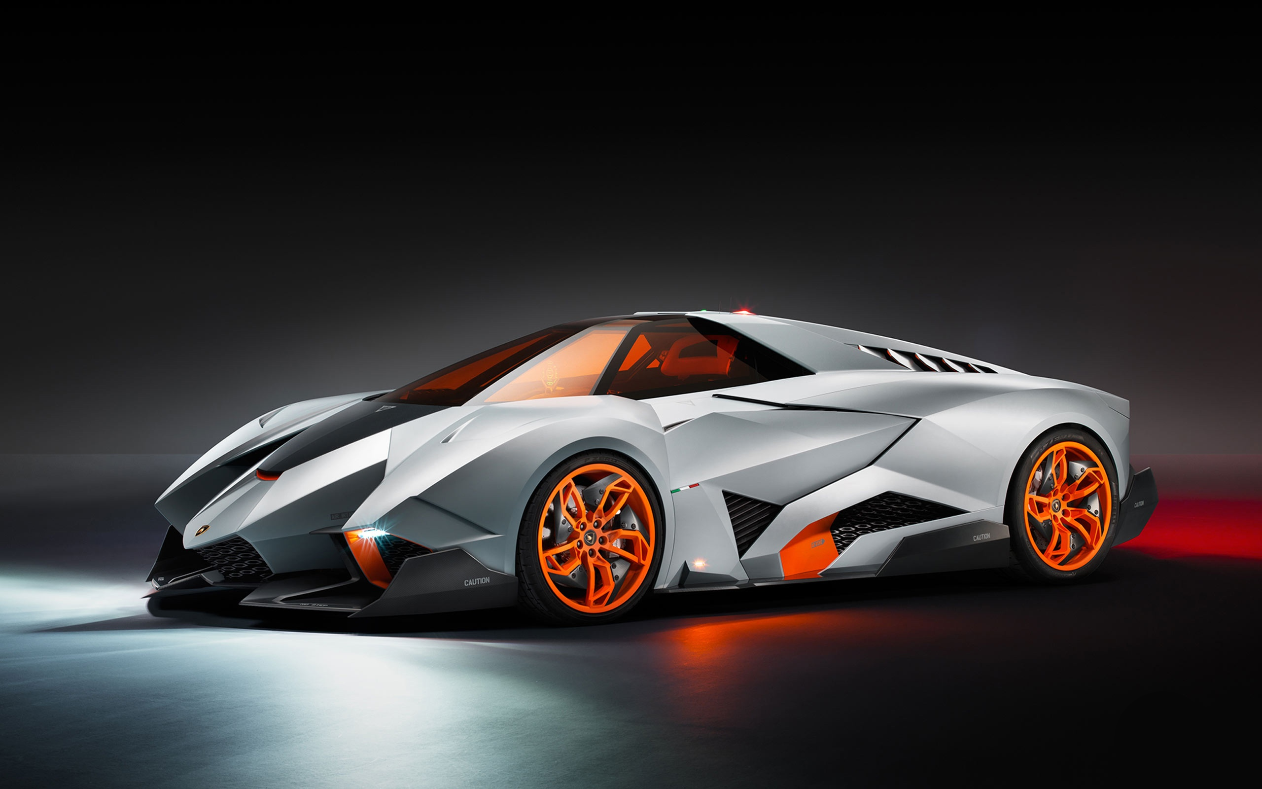 Lamborghini Egoista computer desktop wallpapers pictures 2560x1600