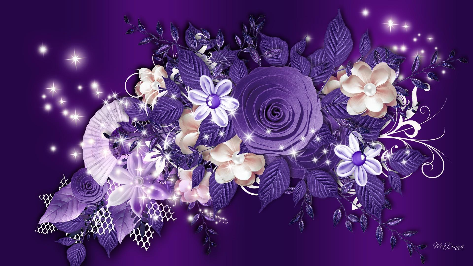 Purple Roses Background Images: [44+] Purple Roses Background Wallpaper On WallpaperSafari