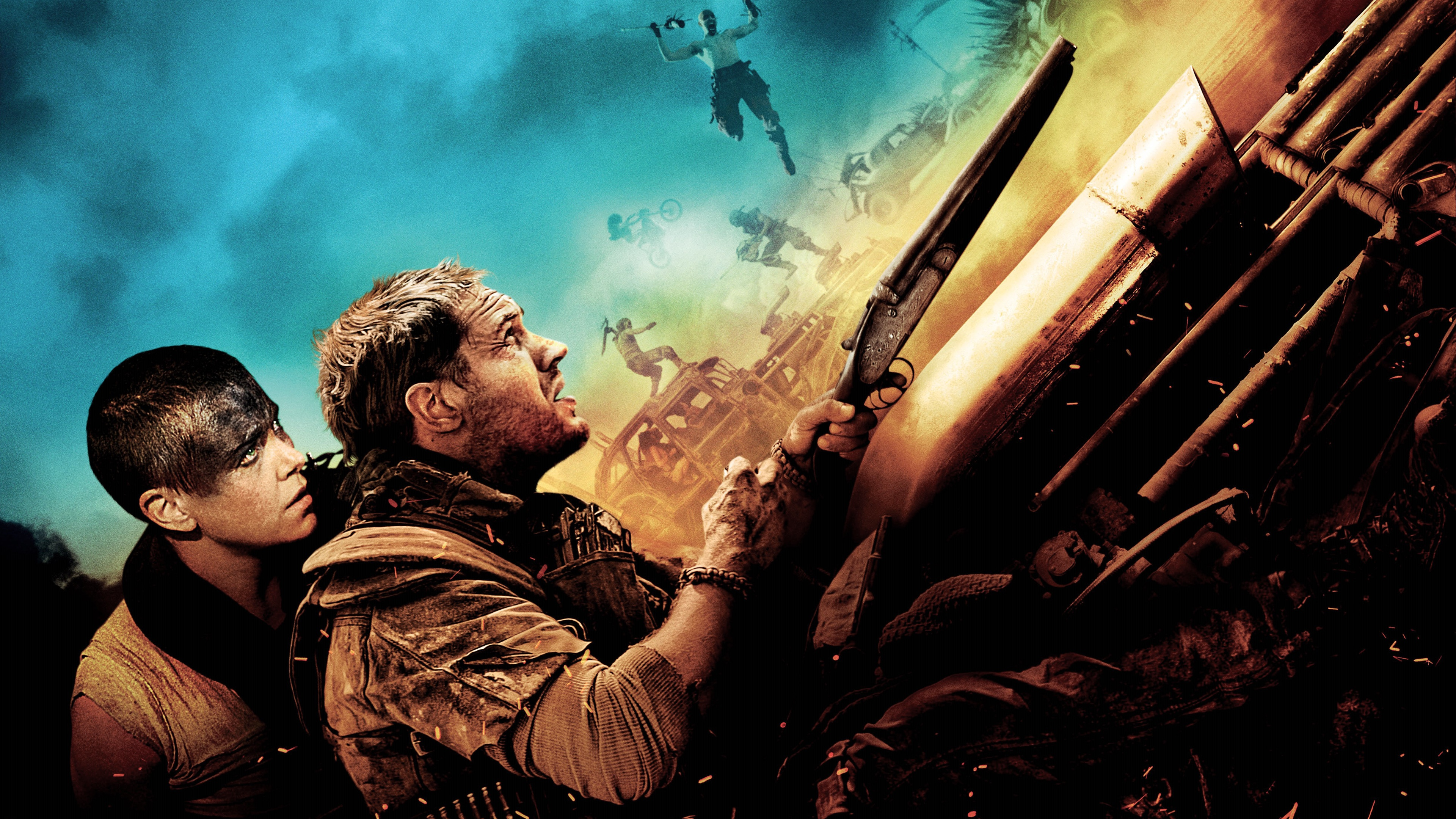 Mad Max Fury Road Movie Wallpapers HD Wallpapers 3840x2160