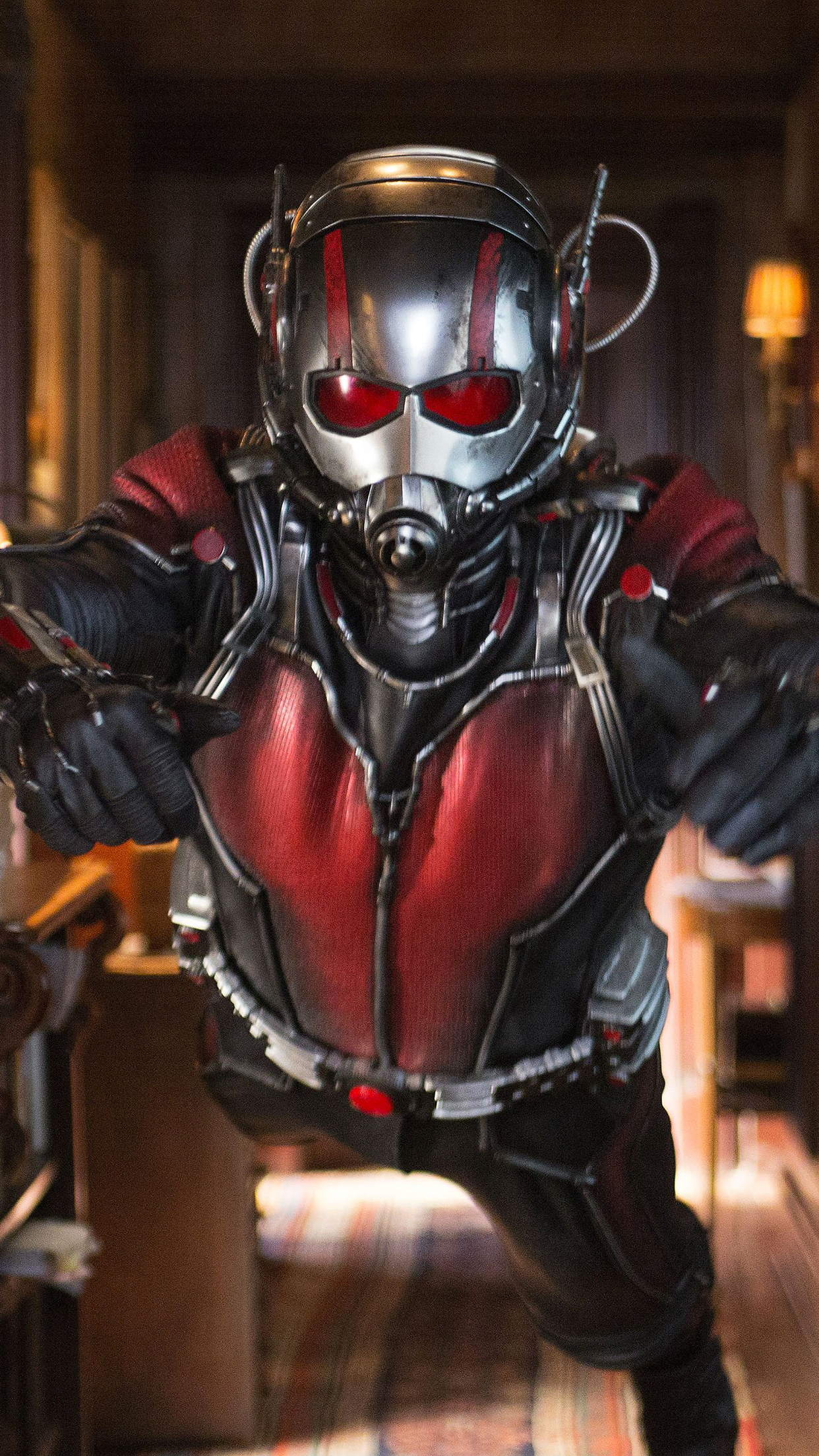 Ant Man Action iPhone 3Wallpapers Parallax Les 3 Wallpapers iPhone du 1242x2208