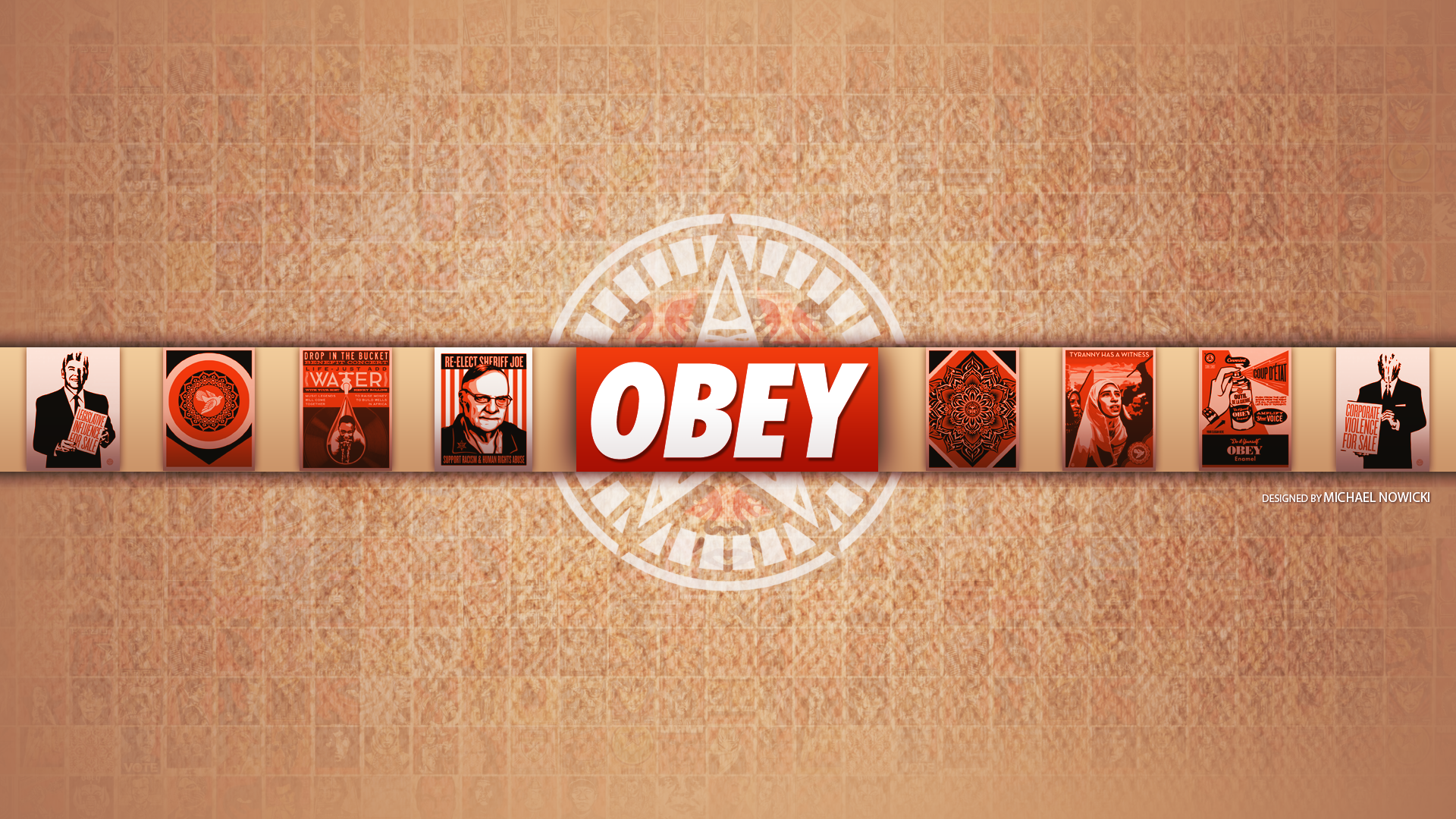 Obey Art Wallpaper Obey desktop w 1920x1080