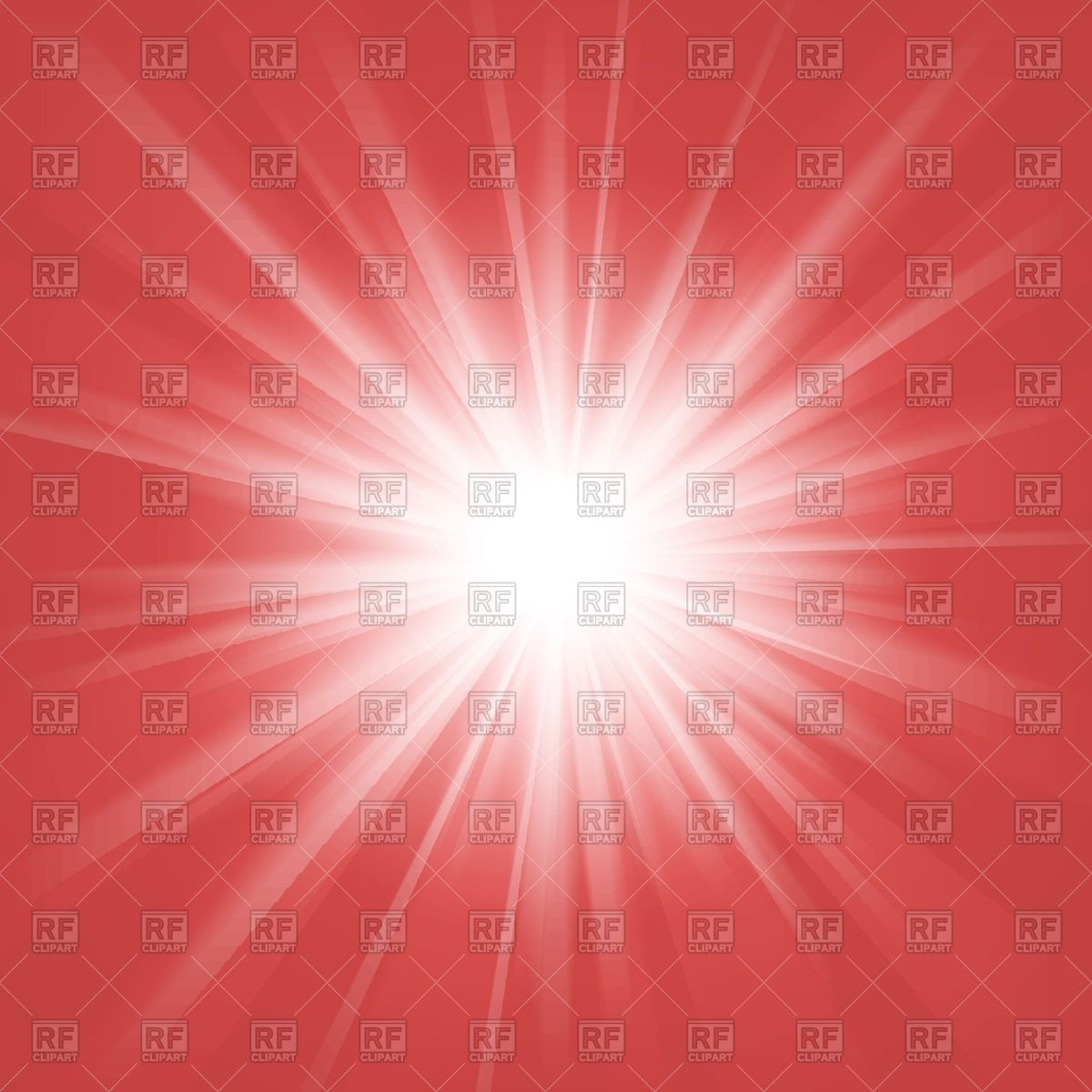 Flash of light on red background   outburst Vector Image of 1200x1200