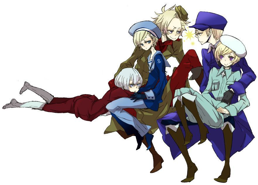 Hetalia Nordic Nations 882x633