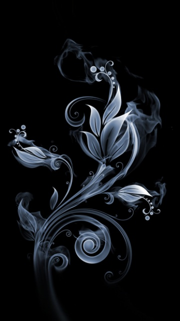 Samsung Omnia HD Wallpapers i8910 Icon 360x640 Dark Flower 360x640