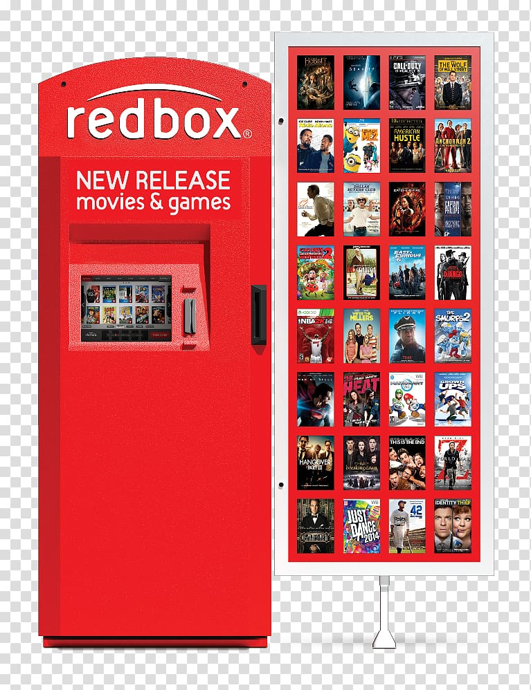 Redbox Waxhaw Alameda Film Rental Store Coupon dvd transparent 767x998