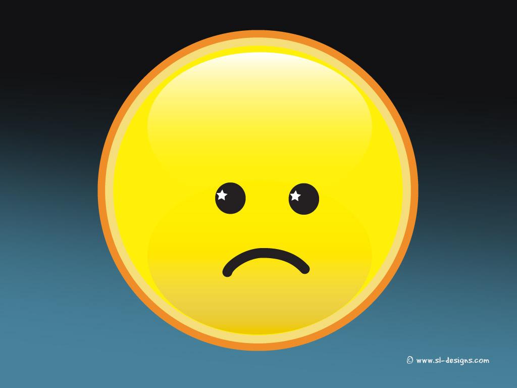 Smiley Face And Sad Face Emoji Sad Smiley Face Wallpaper 1024x768