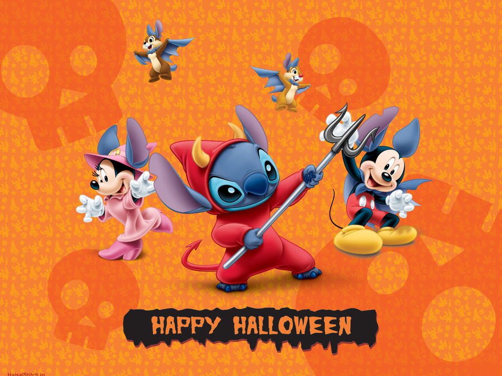 Halloween Wallpapers   mmw blog Halloween Disney 1024x768